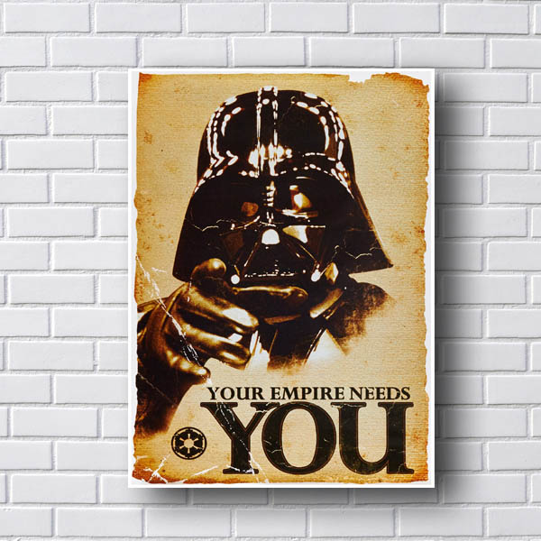Quadro Star Wars Your Empire Needs You
