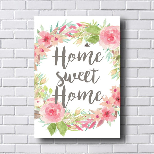 Quadro Decorativo Home Swet Home