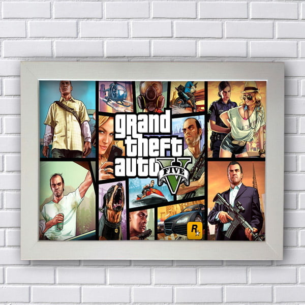 Quadro GTA Grand Theft Auto V