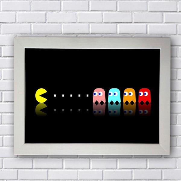 Quadro Pac Man