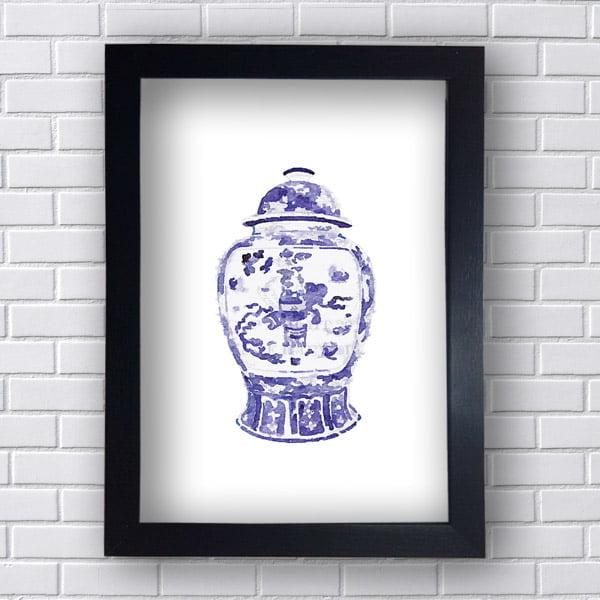 Quadro Vaso Decorativo