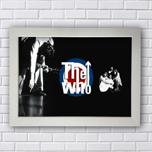 Quadro The Who Poster