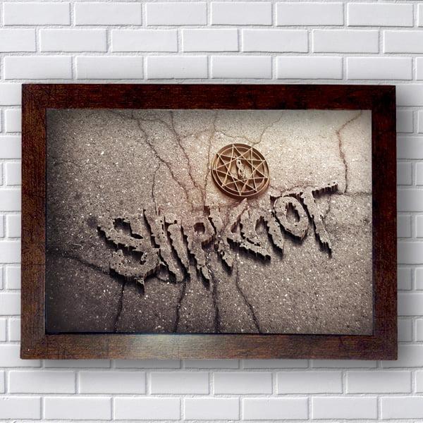 Quadro Slipknot Logo