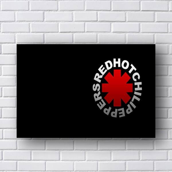 Quadro Red Hot Chili Peppers Logo