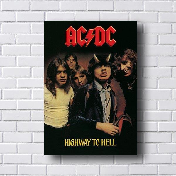 Quadro Decorativo AC/DC