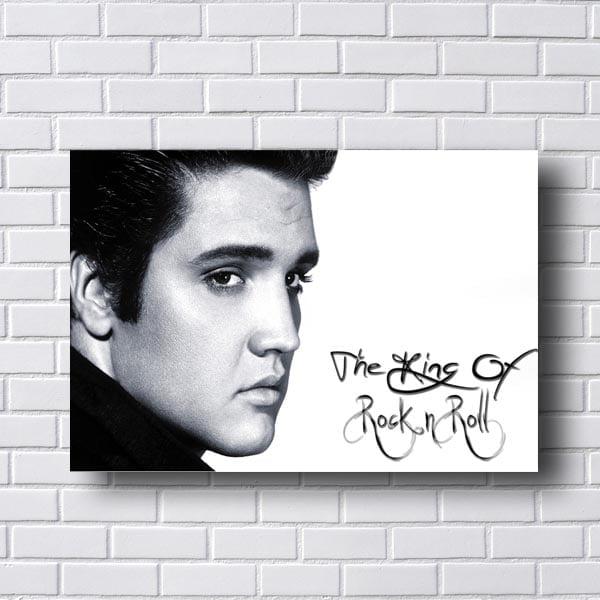 Quadro Decorativo Elvis The King