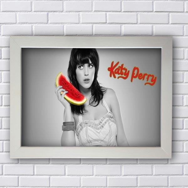 Quadro Decorativo Katy Perry