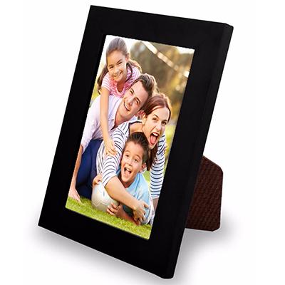 Porta Retrato Liso 13x18Cm Para Fotos e Poster Com Gravata e Vidro