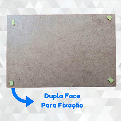 Quadro Decorativo Triângulos Rosa