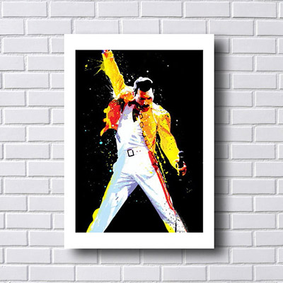 Quadro Decorativo Freddie Mercury