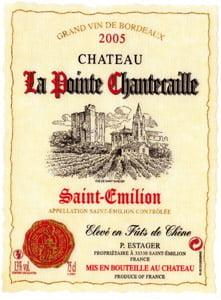 Placa Decorativa de Vinho Bordeaux 2005 Retro Vintage PDV395