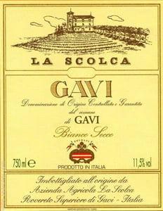Placa Decorativa de Vinho La Scolca Italia Retro Vintage PDV396