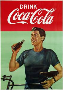 Placas Decorativas Coca Cola Drink Retro Vintage PDV370
