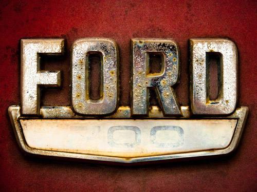 Placa Decorativa Vintage Carros Ford 700 Retro PDV200