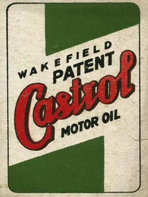Placa Decorativa Vintage Carros Castrol Oil PDV192