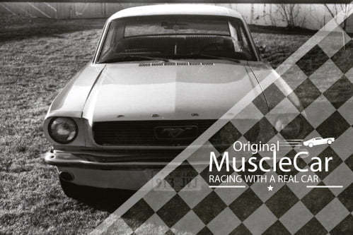 Placa Decorativa Vintage Carros Muscle Car Mustang PDV222
