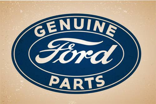 Placa Decorativa Vintage Retro Ford Genuine PDV096
