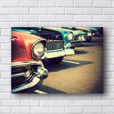 Quadro de Carros Antigos Classicos