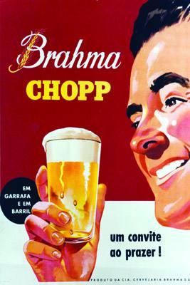 Placa Decorativa Brahma Chopp Um Convite ao Prazer PDV031