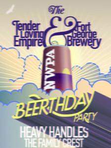 Placas Decorativas Cerveja Beerthday PDV357