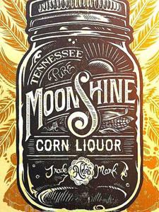 Placas Decorativas Moonshine para Cozinha PDV510
