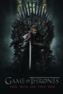 Placa Decorativa Game of Thrones Filme PDV479