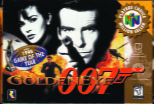 Placas Decorativas 007 Golden Eye PDV487