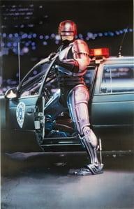 Placa Decorativa Robocop Filme PDV491