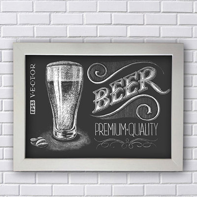 Placa Decorativa Beer Premium