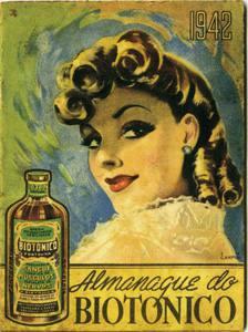 Placa Decorativa Vintage Propaganda Biotonico 1942 PDV418