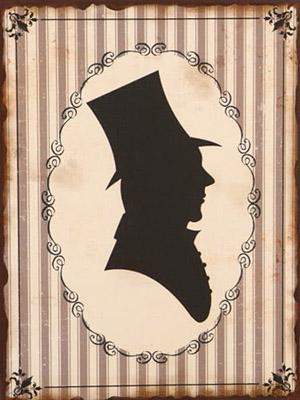 Placa Decorativa Vintage Retro Homen Man WC PDV137