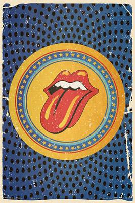 Placa Decorativa Vintage Retro Rolling Stones PDV124