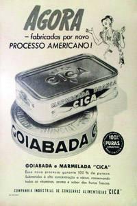 Placas Decorativas Propagandas Antigas Goiabada Cica PDV450