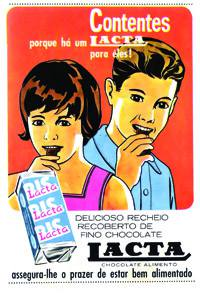 Placas Decorativas Propagandas Antigas Lacta Bis PDV437