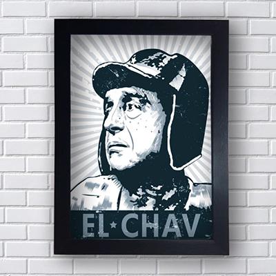 Placa Quadro Decorativo El Chav