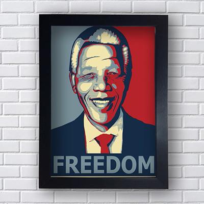 Placa Quadro Decorativo Freedom