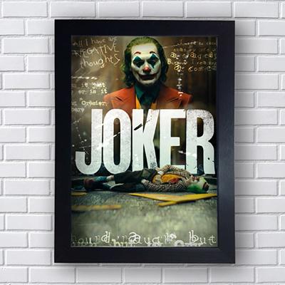 Placa Quadro Decorativo Joker