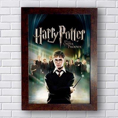 Quadro Decorativo Harry Potter A Ordem da Fênix