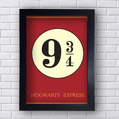 Quadro Decorativo Hogwarts Express