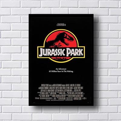 Quadro Decorativo Jurassic Park