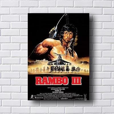 Quadro Decorativo Rambo