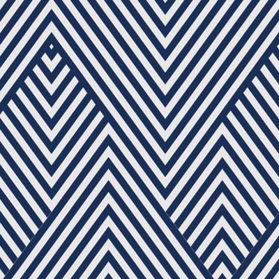 Papel de Parede Zig Zag Azul Geometricos
