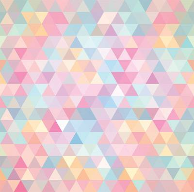 Papel de Parede Geometricos Coloridos Triangulares