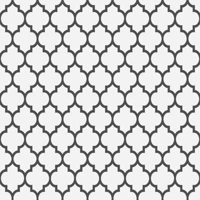 Papel de Parede Formas Arabes Geometrico