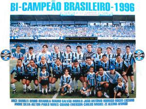 Placa Decorativa Gremio 1996 PDV452