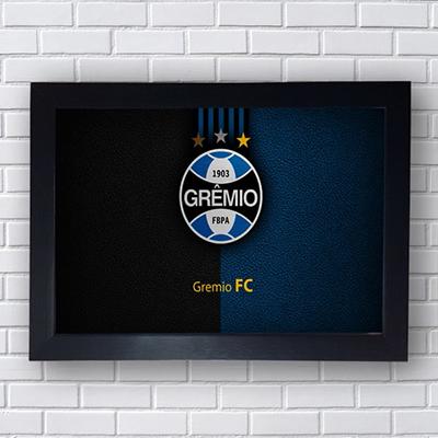 Placa Quadro Decorativo  Grêmio FC