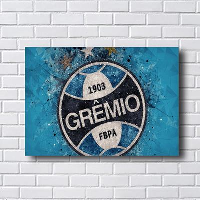 Placa Quadro Decorativo  Grêmio Foot-Ball