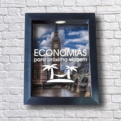Quadro Viagem Economias