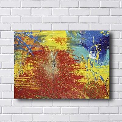 Quadros Abstratos Formas Circulares