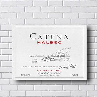 Quadro Catena Malbec